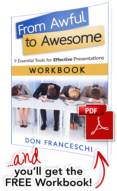 From Awful to Awesome WORKBOOK